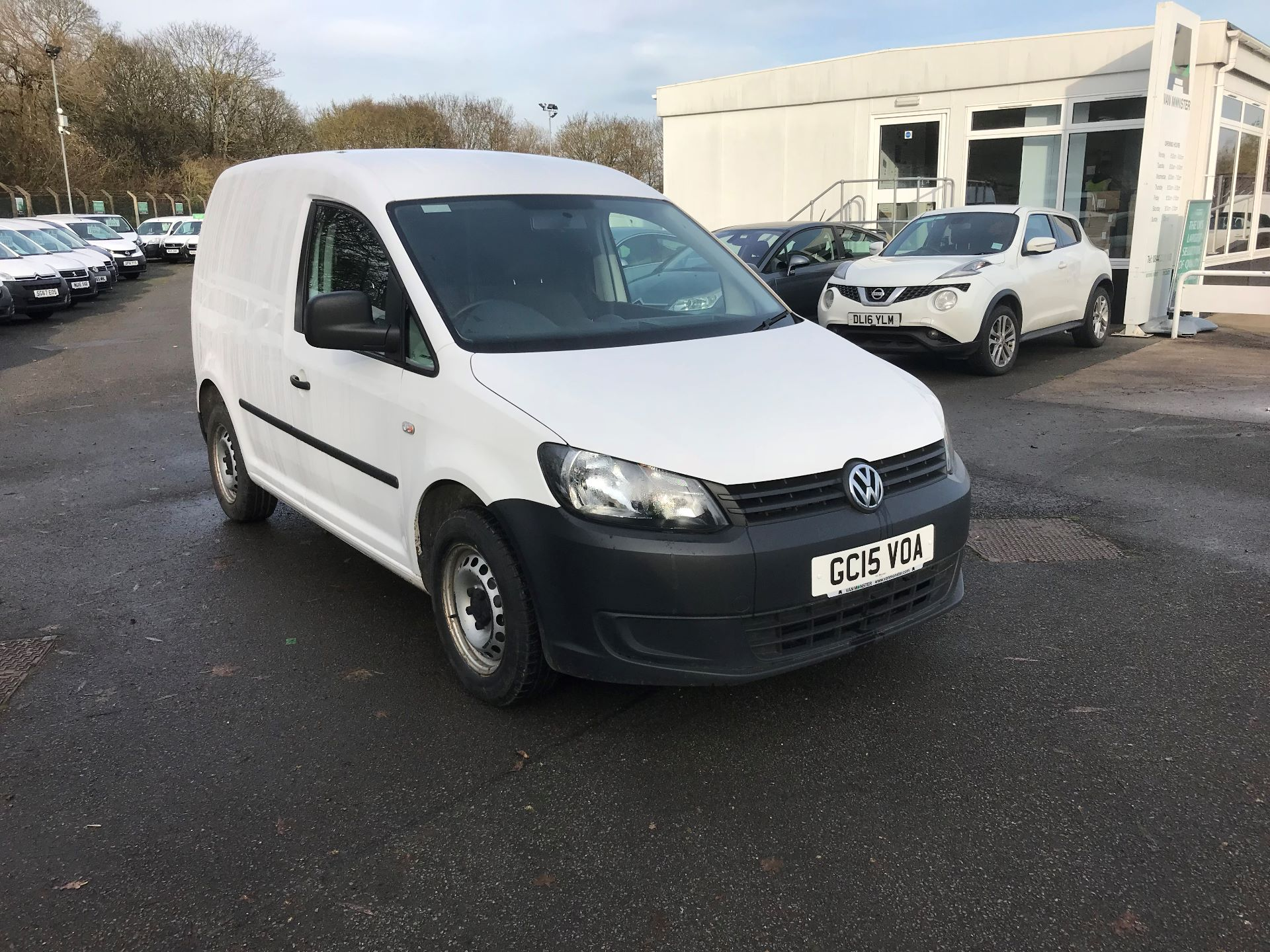 2015 Volkswagen Caddy  1.6 75PS STARTLINE EURO 5 (GC15VOA) Thumbnail 1