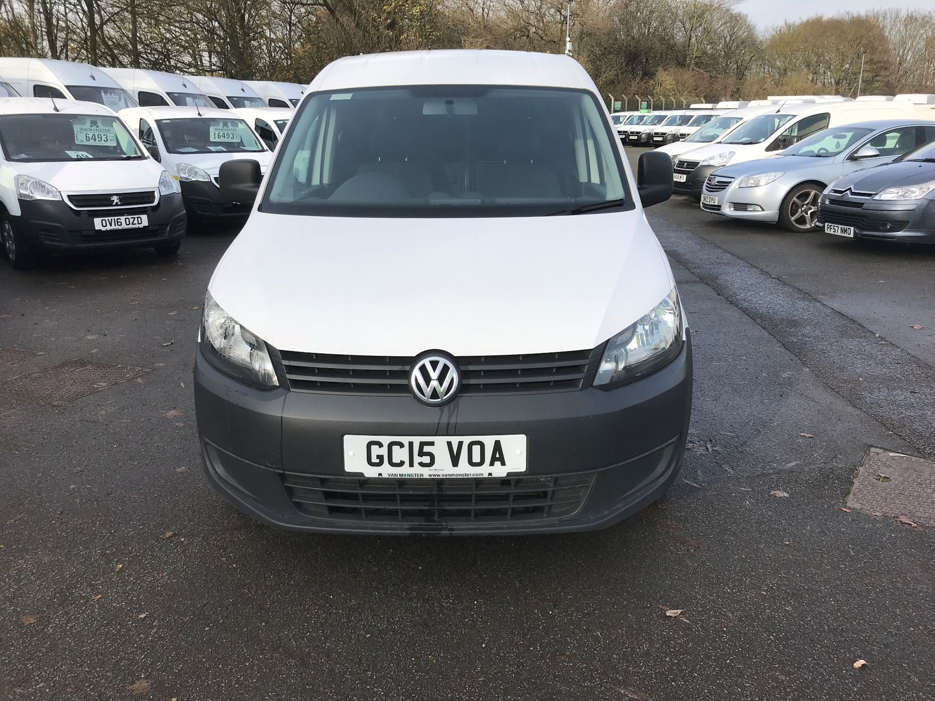 2015 Volkswagen Caddy  1.6 75PS STARTLINE EURO 5 (GC15VOA) Thumbnail 3