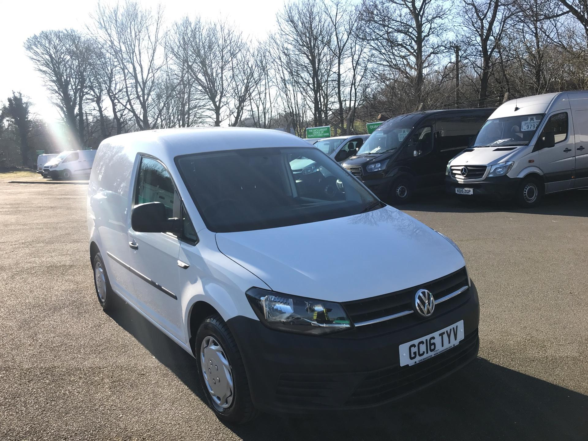 2016 Volkswagen Caddy  2.0 102PS BLUEMOTION TECH 102 STARTLINE EURO 6 (GC16TYV) Thumbnail 1
