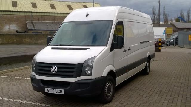 2016 Volkswagen Crafter CR35 LWB 2.0 TDI 136PS HIGH ROOF EURO 5 (GC16UCO) Image 3