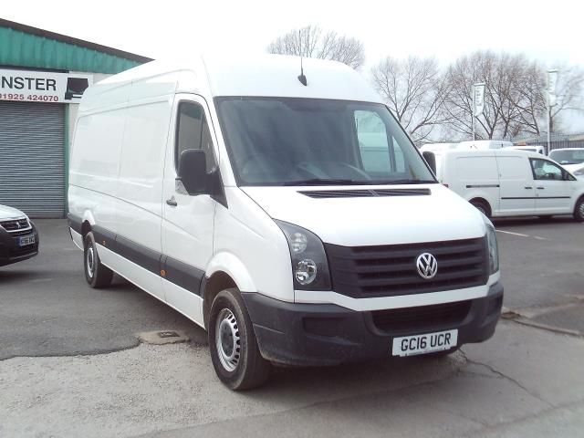 2016 Volkswagen Crafter CR35 LWB HIGH ROOF 109PS (GC16UCR)