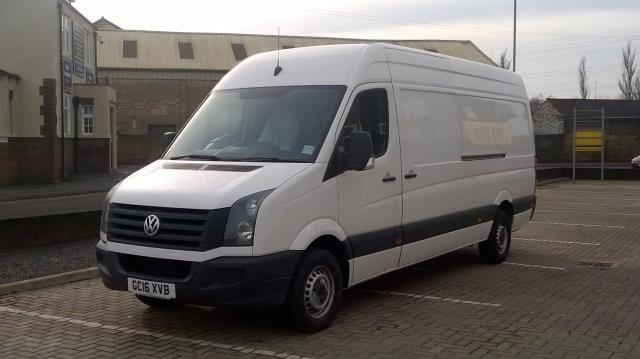 2016 Volkswagen Crafter CR35 LWB 2.0 TDI 136PS HIGH ROOF EURO 5 (GC16XVB) Image 3