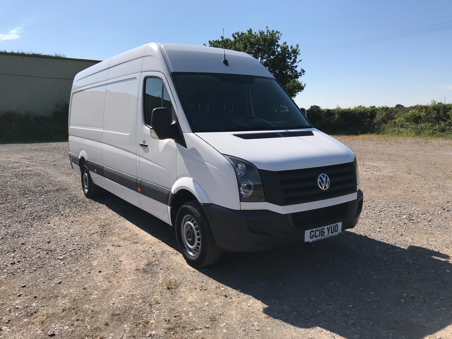 2016 Volkswagen Crafter 2.0 Tdi 136Ps High Roof Van (GC16YUO)