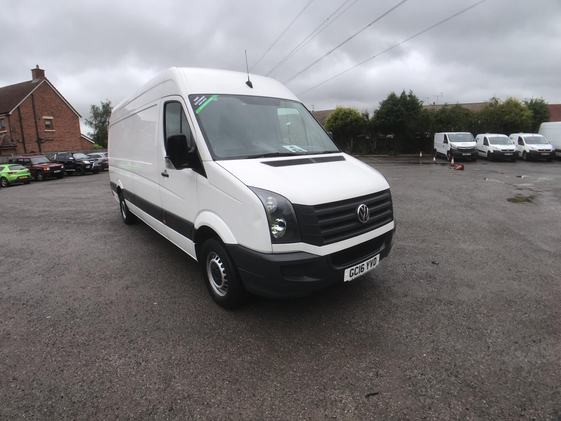 2016 Volkswagen Crafter CR35 LWB 2.0 TDI 136PS HIGH ROOF EURO 5 (GC16YVD)