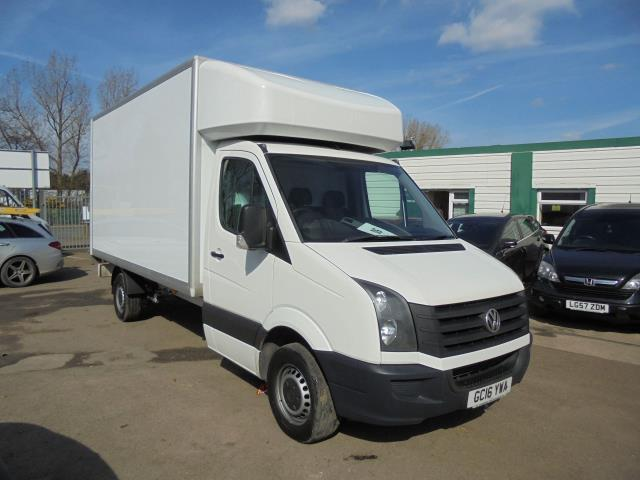 2016 Volkswagen Crafter CR35 2.0 Tdi 136Ps Single Cab LUTON WITH T/LIFT (GC16YWA)