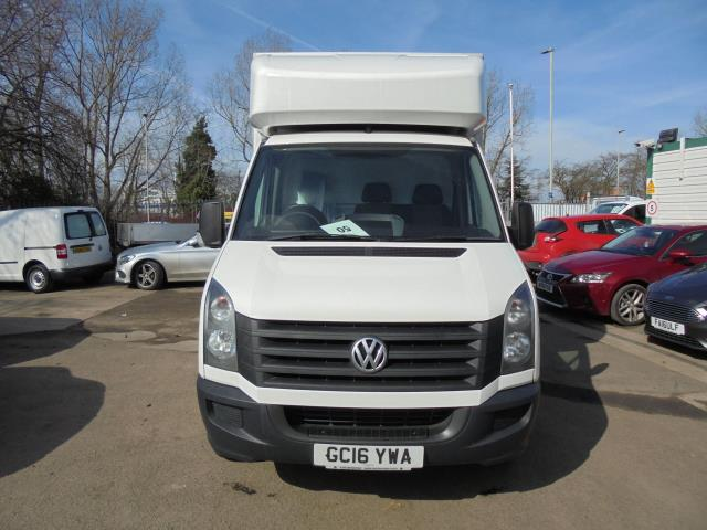 2016 Volkswagen Crafter CR35 2.0 Tdi 136Ps Single Cab LUTON WITH T/LIFT (GC16YWA) Image 3