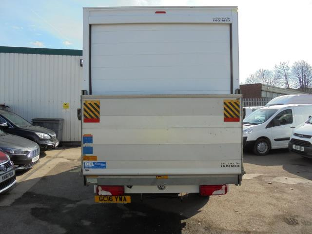 2016 Volkswagen Crafter CR35 2.0 Tdi 136Ps Single Cab LUTON WITH T/LIFT (GC16YWA) Image 6