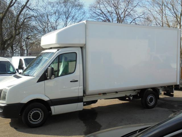 2016 Volkswagen Crafter CR35 2.0 Tdi 136Ps Single Cab LUTON WITH T/LIFT (GC16YWA) Image 10