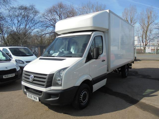 2016 Volkswagen Crafter CR35 2.0 Tdi 136Ps Single Cab LUTON WITH T/LIFT (GC16YWA) Image 2