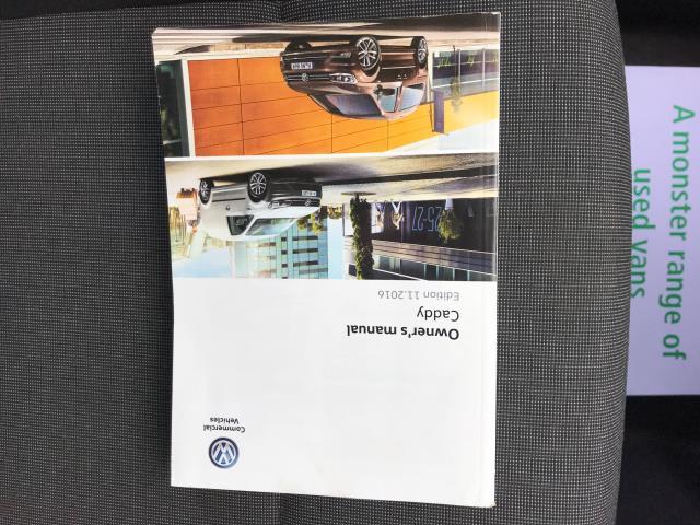 2017 Volkswagen Caddy  2.0 102PS BLUEMOTION TECH 102 STARTLINE EURO 6 (GC17YGM) Image 34