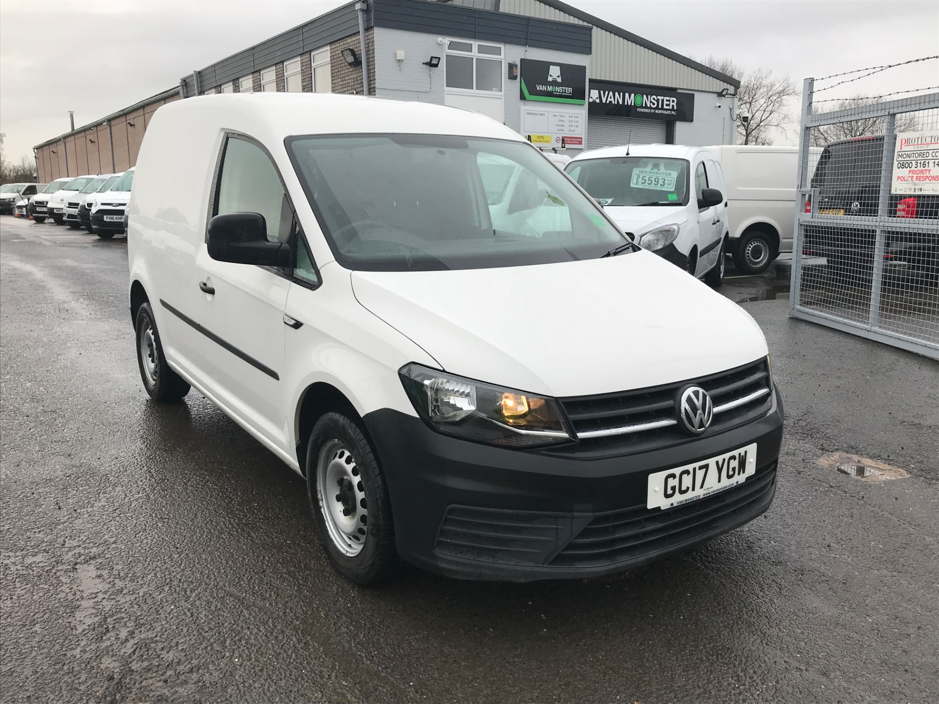 2017 Volkswagen Caddy 2.0TDI 102PS BLUEMOTION TECH STARTLINE EURO 6 (GC17YGW)