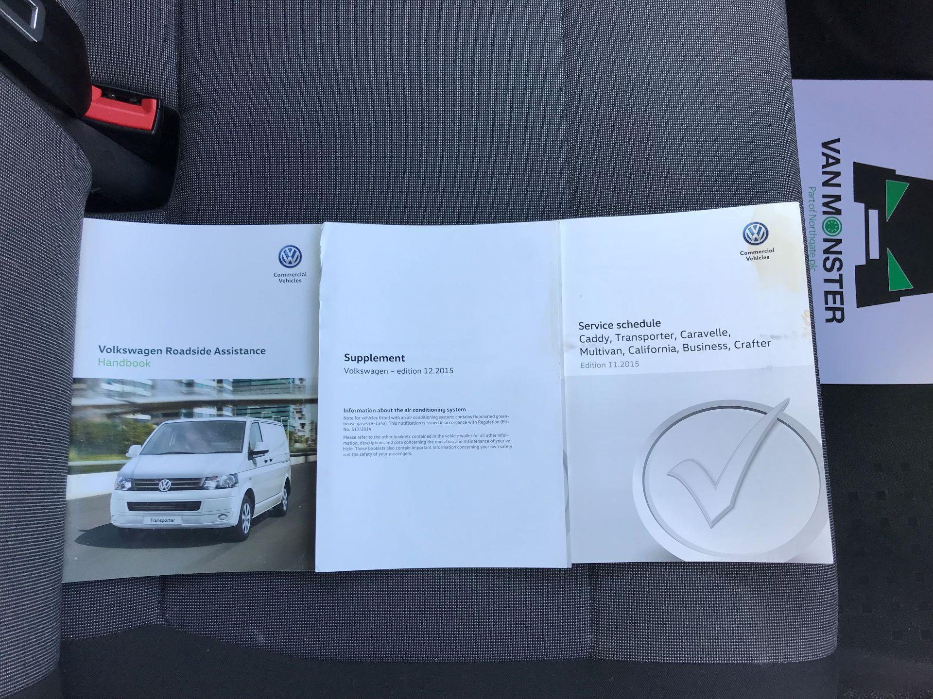 2016 Volkswagen Transporter  T28 SWB DIESEL 2.0 TDI BMT 102 STARTLINE VAN EURO 5 (GD16HGC) Image 29