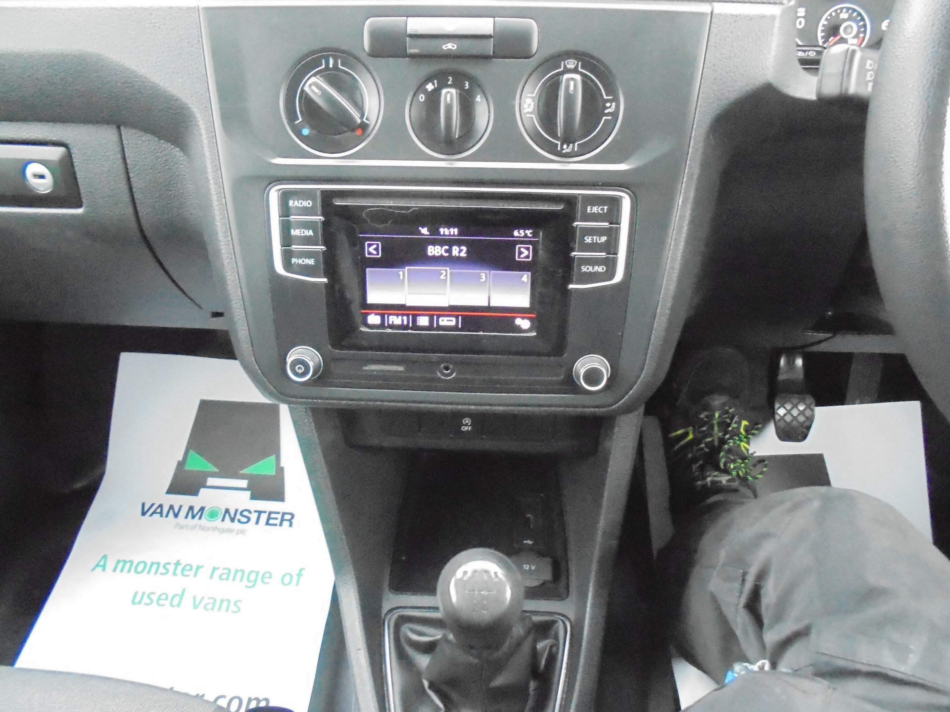 2016 Volkswagen Caddy 2.0 102PS BLUEMOTION TECH 102PS STARTLINE EURO 6 (GD16PXB) Image 13