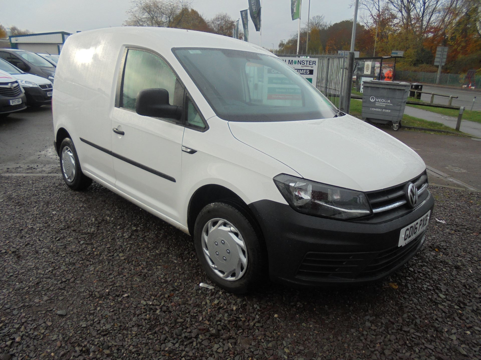 2016 Volkswagen Caddy 2.0 102PS BLUEMOTION TECH 102PS STARTLINE EURO 6 (GD16PXB)