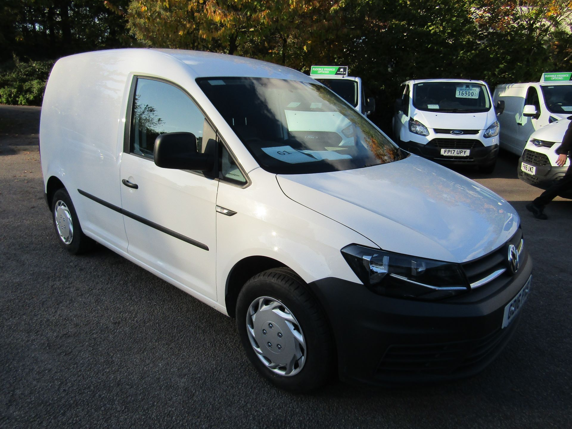 2016 Volkswagen Caddy  2.0 102PS BLUEMOTION TECH 102 STARTLINE EURO 6 (GD16PXE) Image 1