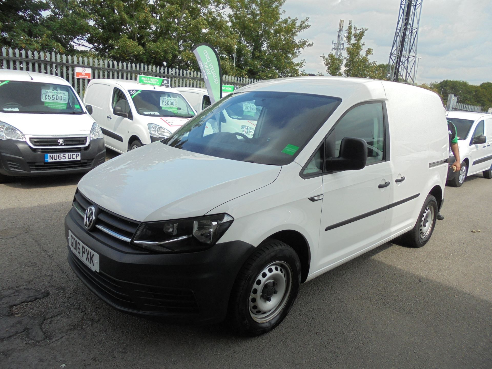 2016 Volkswagen Caddy  2.0 102PS BLUEMOTION TECH 102 STARTLINE EURO 6 (GD16PXK) Image 7