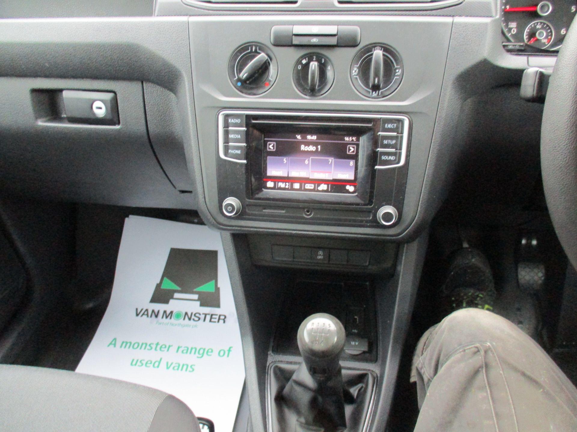 2017 Volkswagen Caddy 2.0 Tdi Bluemotion Tech 102Ps Startline Van (GD17EUO) Image 13