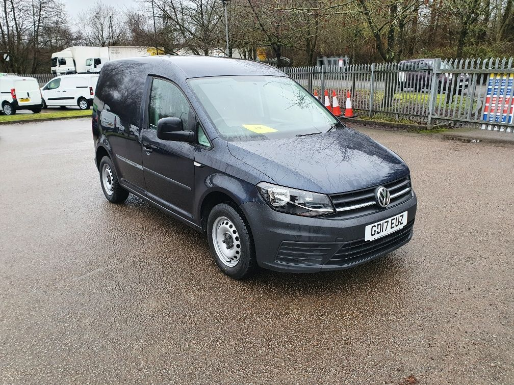 2017 Volkswagen Caddy 2.0 Tdi Bluemotion Tech 102Ps Startline Van (GD17EUZ)