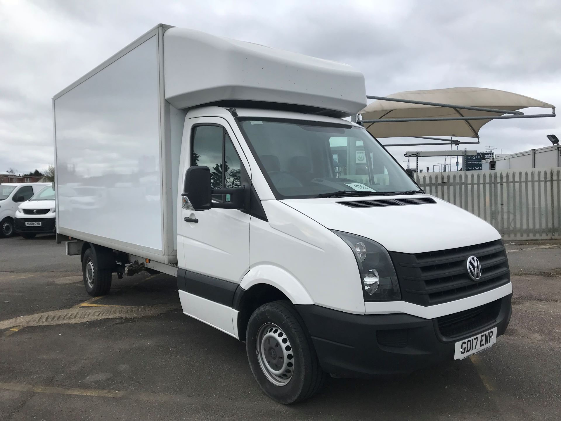2017 Volkswagen Crafter 2.0 TDI BMT 140PS LUTON EURO 6 (GD17EWP)