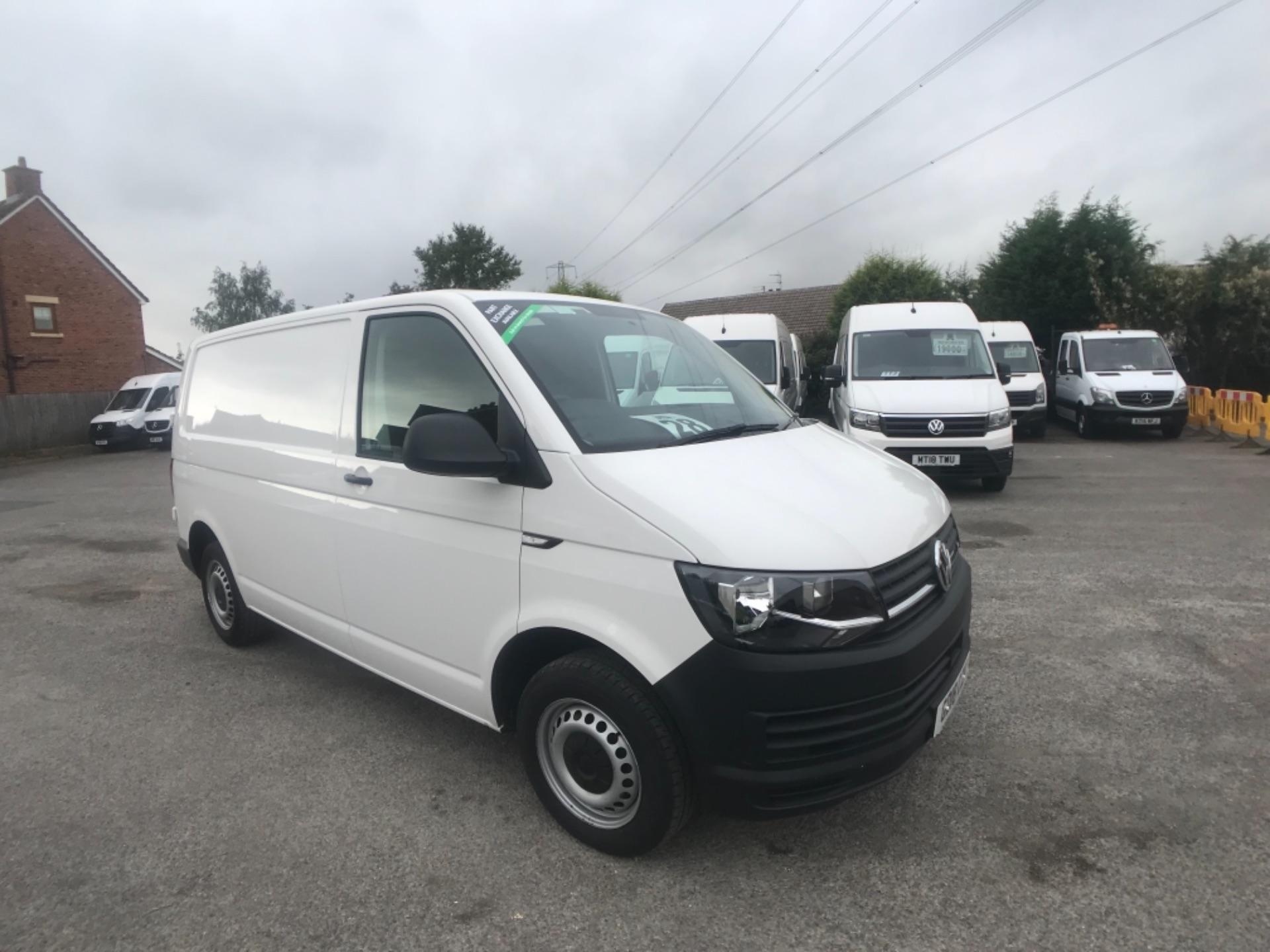 2018 Volkswagen Transporter  T28 SWB DIESEL 2.0 TDI BMT 84 STARTLINE VAN EURO 6 (GD18CZK)