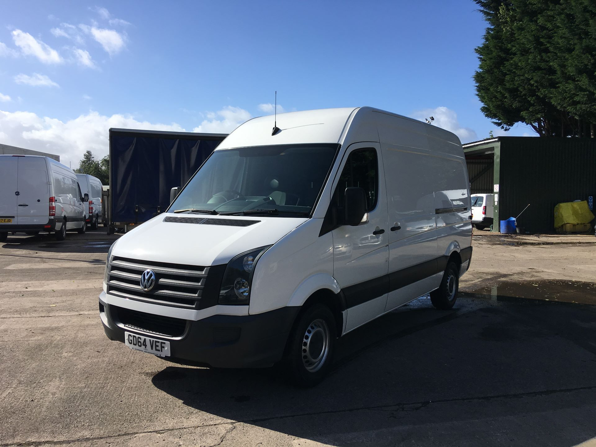 2015 Volkswagen Crafter CR35 MWB 2.0 TDI 109PS HIGH ROOF EURO 5 (GD64VEF) Image 15