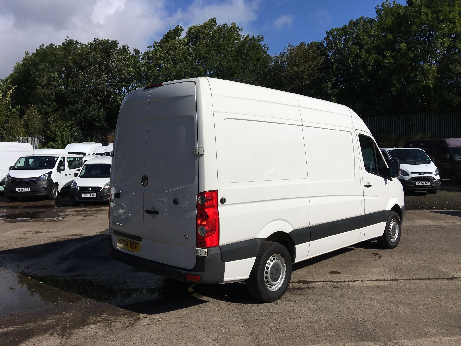 2015 Volkswagen Crafter CR35 MWB 2.0 TDI 109PS HIGH ROOF EURO 5 (GD64VEF) Image 10