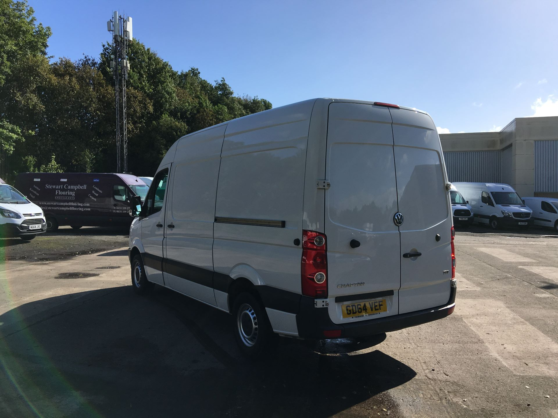 2015 Volkswagen Crafter CR35 MWB 2.0 TDI 109PS HIGH ROOF EURO 5 (GD64VEF) Image 12