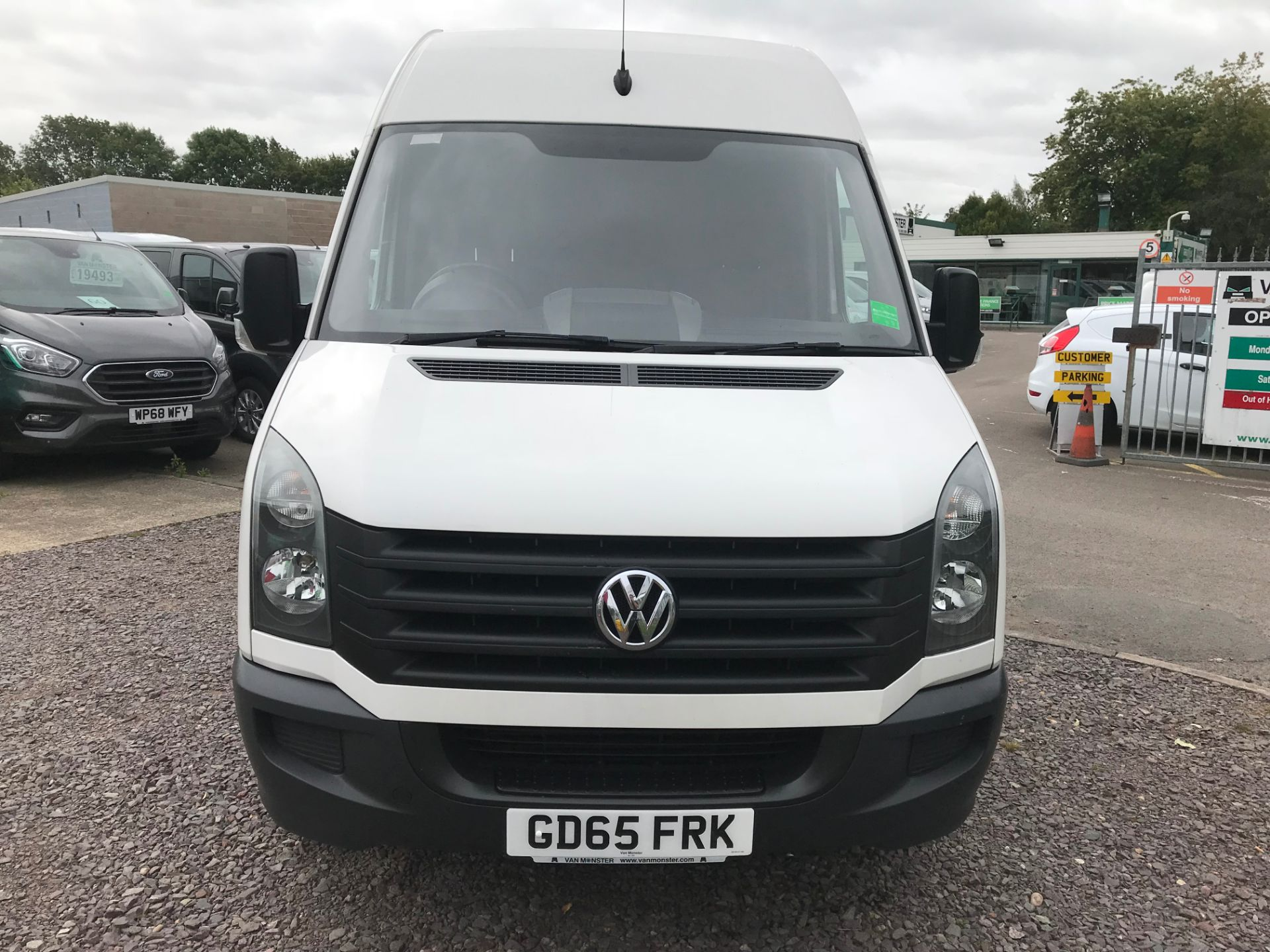 2015 Volkswagen Crafter CR35 LWB 2.0 TDI 136PS HIGH ROOF EURO 5 (GD65FRK) Image 10