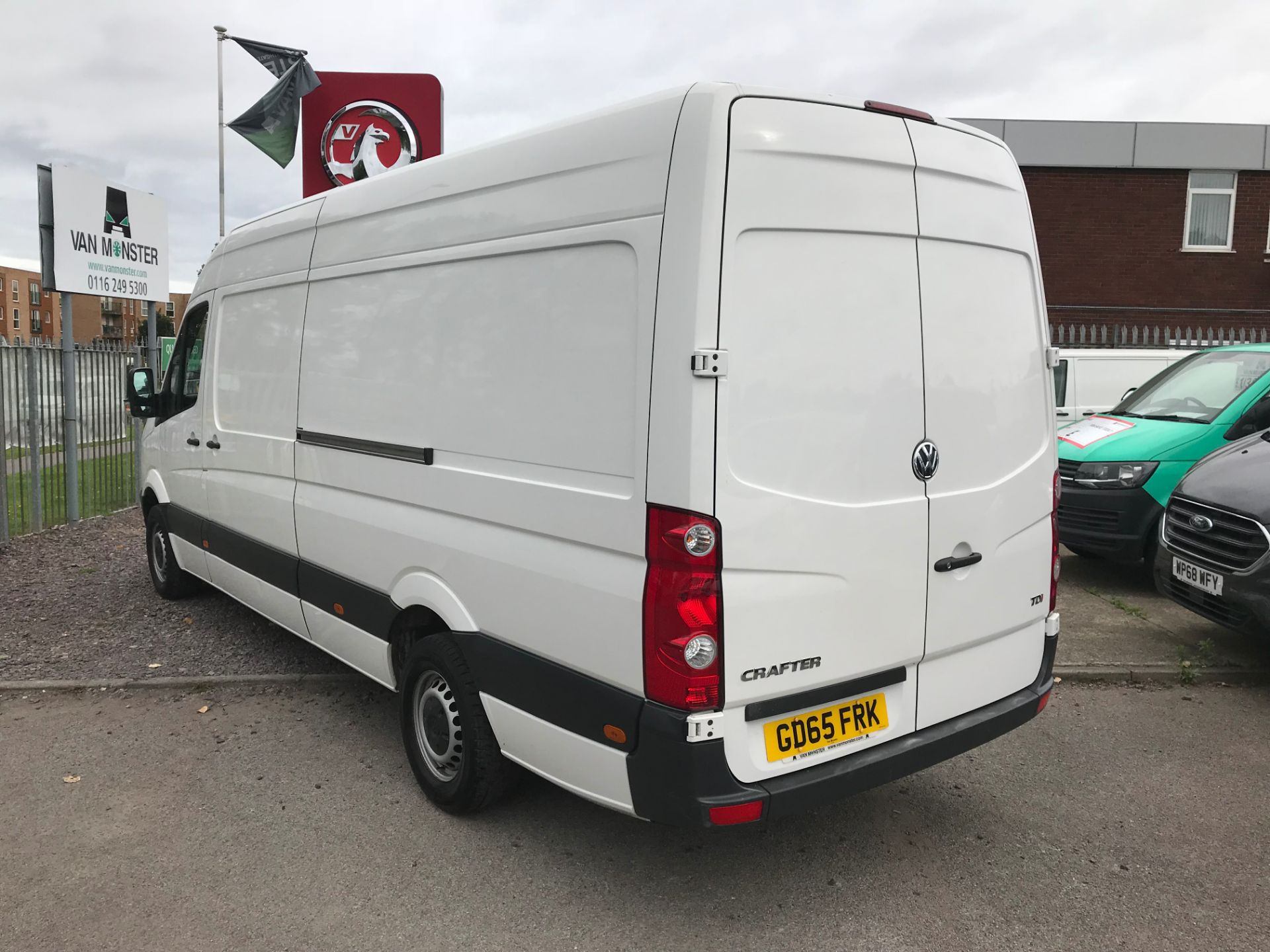 2015 Volkswagen Crafter CR35 LWB 2.0 TDI 136PS HIGH ROOF EURO 5 (GD65FRK) Image 6