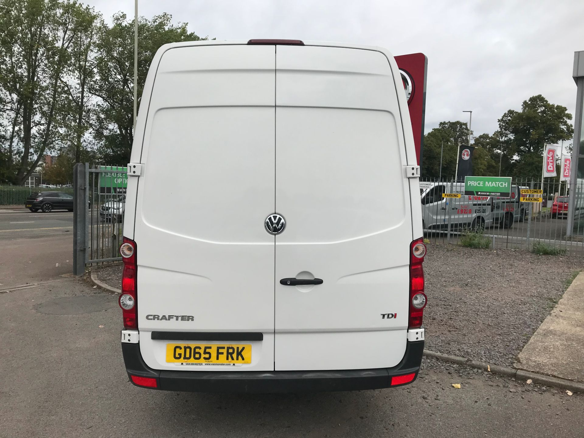 2015 Volkswagen Crafter CR35 LWB 2.0 TDI 136PS HIGH ROOF EURO 5 (GD65FRK) Image 4