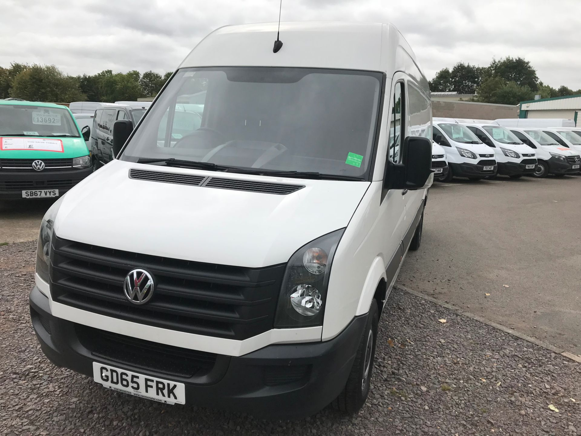 2015 Volkswagen Crafter CR35 LWB 2.0 TDI 136PS HIGH ROOF EURO 5 (GD65FRK) Image 9
