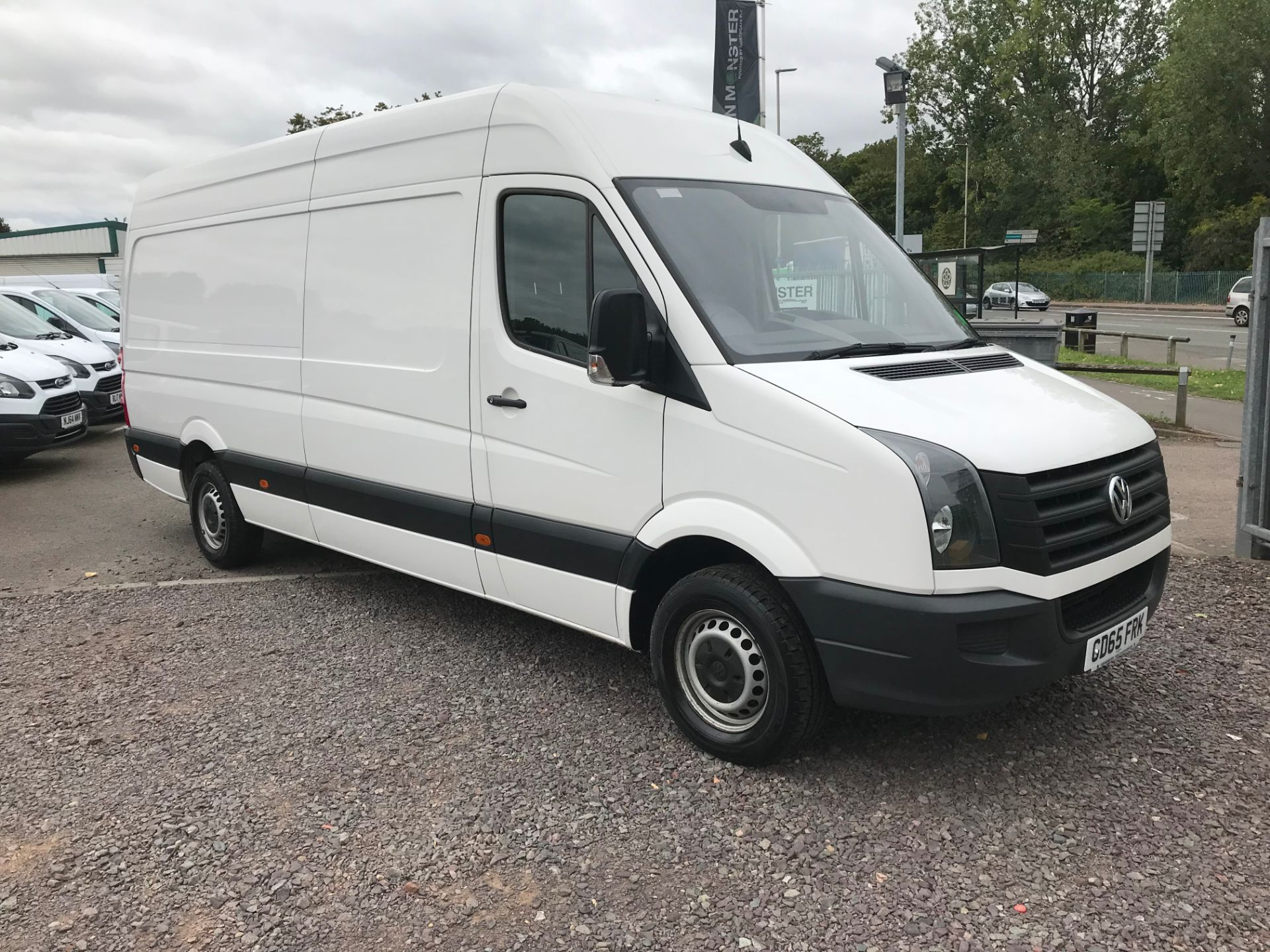 2015 Volkswagen Crafter CR35 LWB 2.0 TDI 136PS HIGH ROOF EURO 5 (GD65FRK)