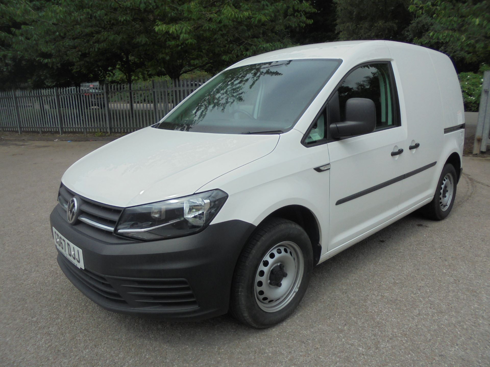 2016 Volkswagen Caddy 2.0 Tdi Bluemotion Tech 102Ps Startline Van (GD66DJJ)