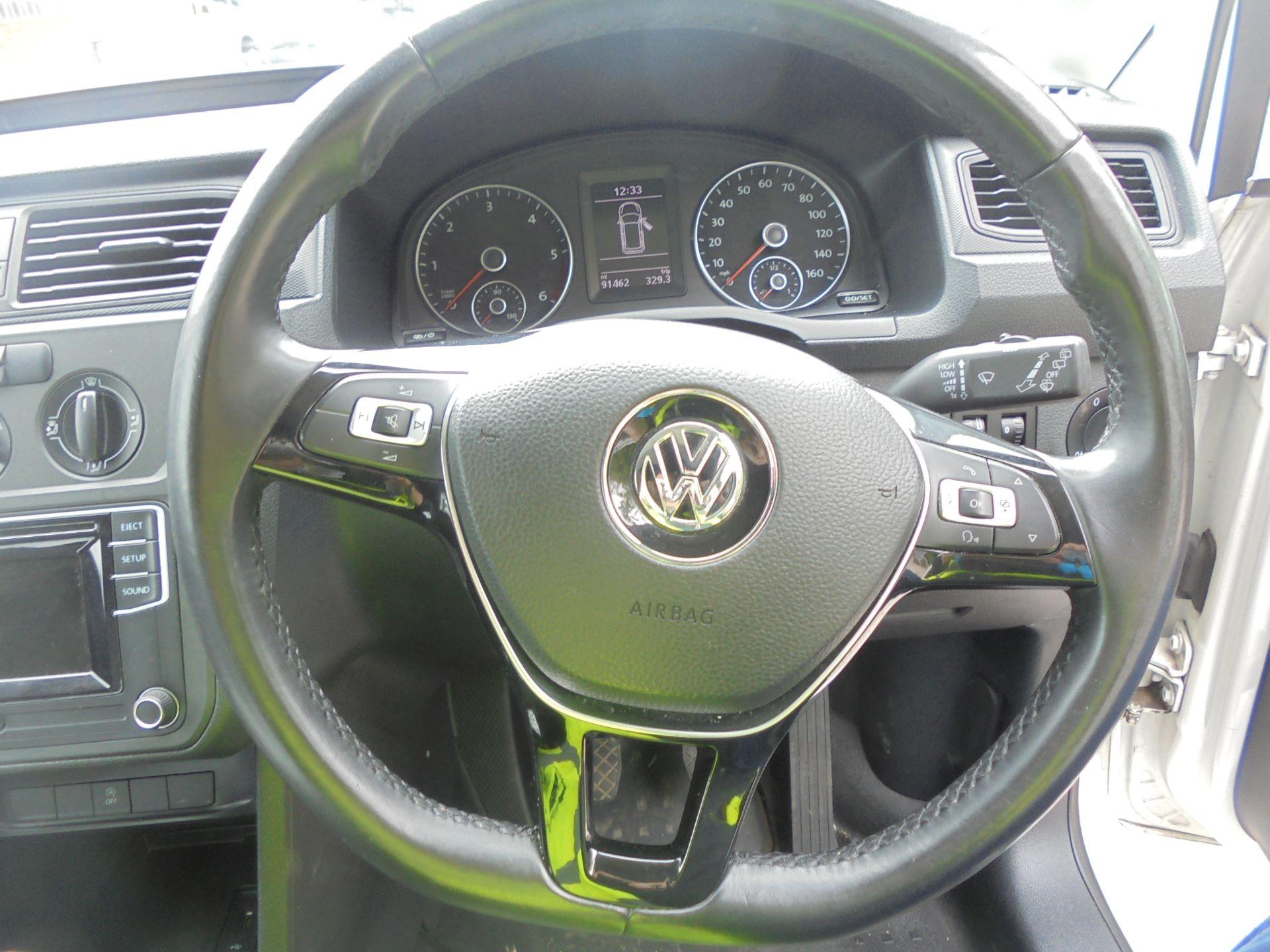 2016 Volkswagen Caddy 2.0 Tdi Bluemotion Tech 102Ps Startline Van (GD66DJJ) Image 13