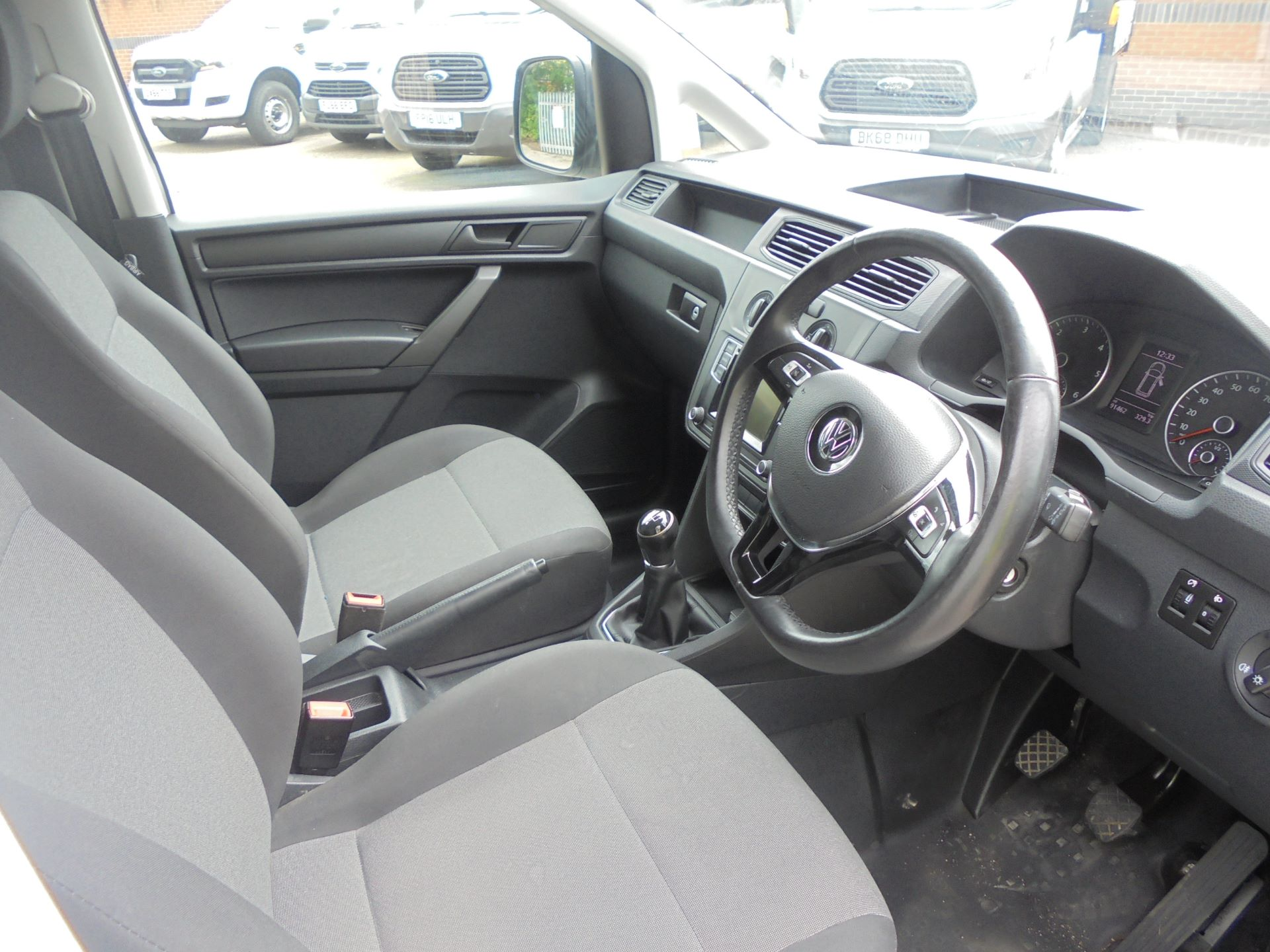 2016 Volkswagen Caddy 2.0 Tdi Bluemotion Tech 102Ps Startline Van (GD66DJJ) Image 12