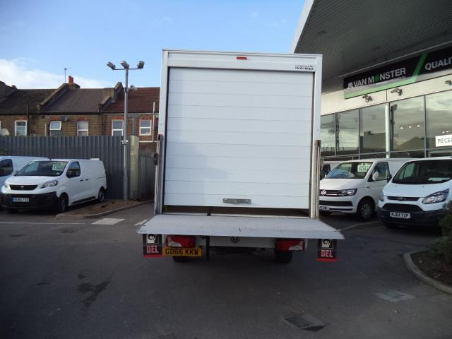 2016 Volkswagen Crafter LWB CR35 LUTON WITH TAIL LIFT 2.0TDI 136PS VAN EURO 5 (GD66KKW) Thumbnail 10