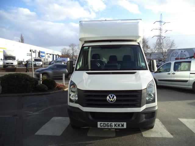 2016 Volkswagen Crafter LWB CR35 LUTON WITH TAIL LIFT 2.0TDI 136PS VAN EURO 5 (GD66KKW) Thumbnail 2