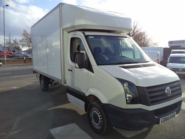 2016 Volkswagen Crafter LWB CR35 LUTON WITH TAIL LIFT 2.0TDI 136PS VAN EURO 5 (GD66KKW) Thumbnail 1
