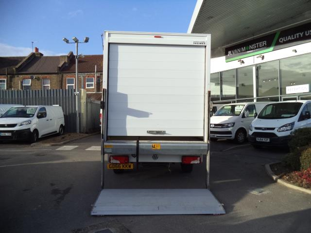 2016 Volkswagen Crafter LWB CR35 LUTON WITH TAIL LIFT 2.0TDI 136PS VAN EURO 5 (GD66KKW) Image 9