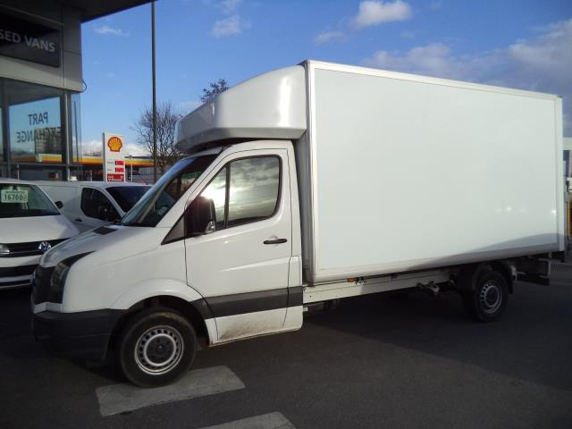 2016 Volkswagen Crafter LWB CR35 LUTON WITH TAIL LIFT 2.0TDI 136PS VAN EURO 5 (GD66KKW) Thumbnail 3