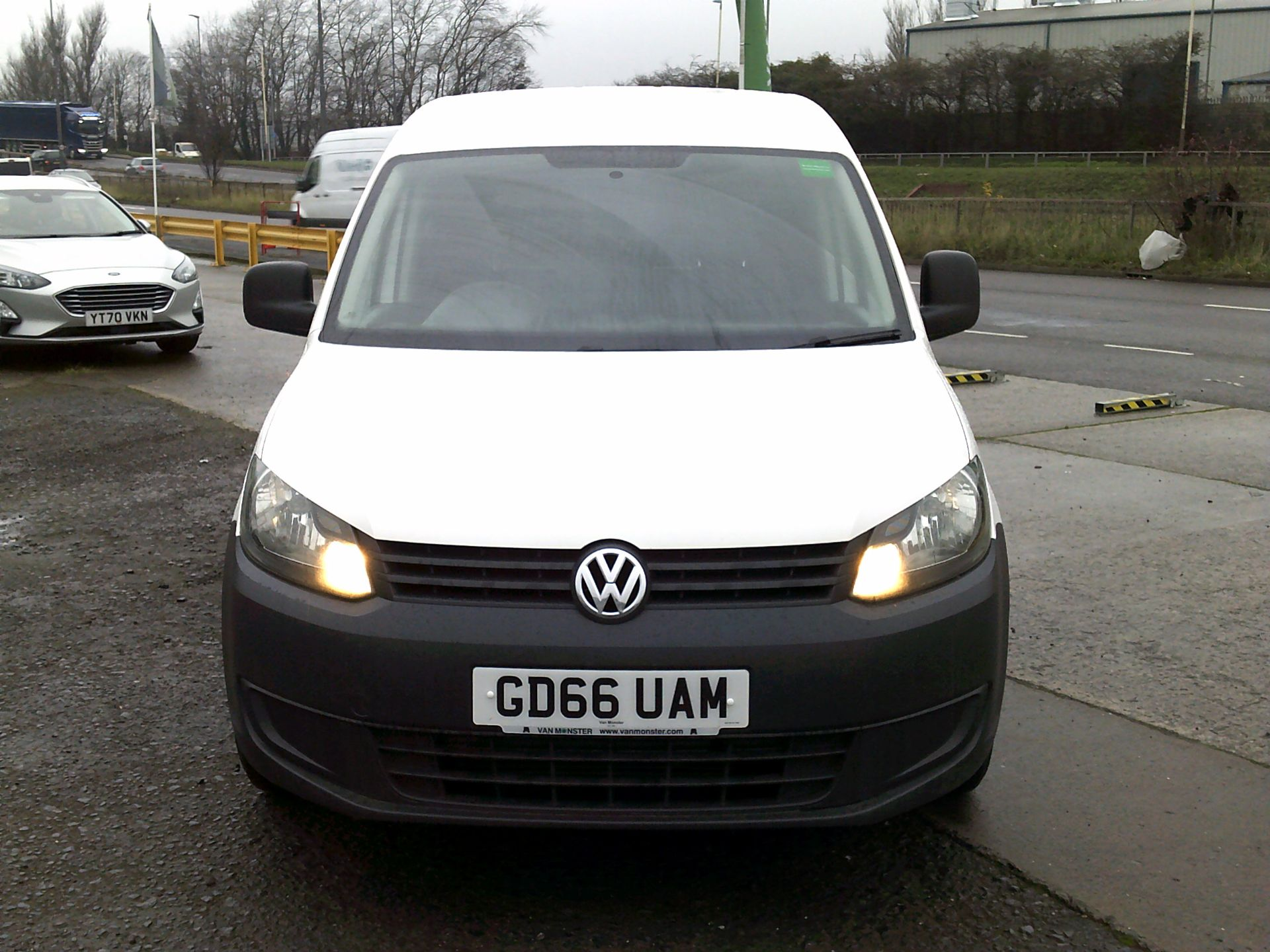 2016 Volkswagen Caddy 1.6 102PS STARTLINE EURO 5 (GD66UAM) Thumbnail 2