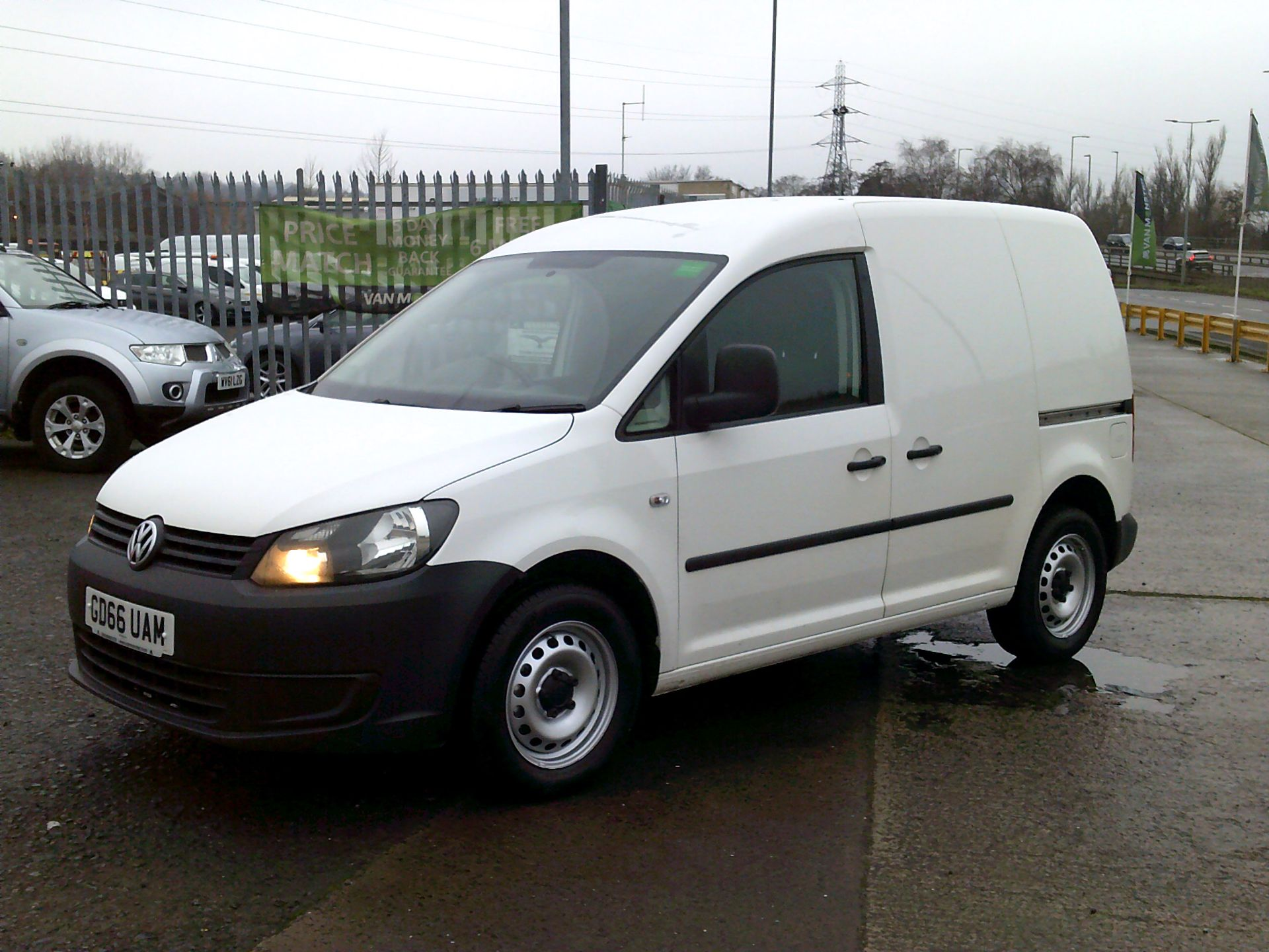 2016 Volkswagen Caddy 1.6 102PS STARTLINE EURO 5 (GD66UAM) Thumbnail 3