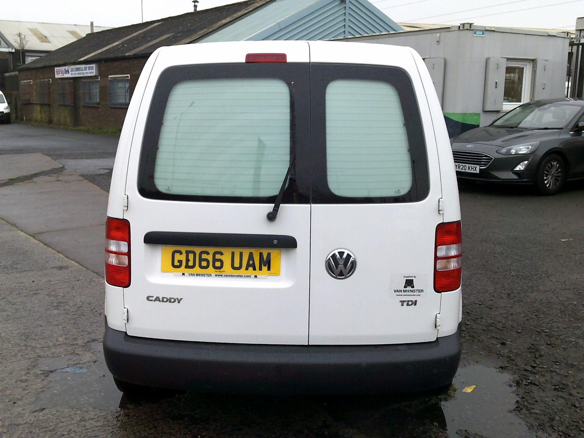 2016 Volkswagen Caddy 1.6 102PS STARTLINE EURO 5 (GD66UAM) Thumbnail 9