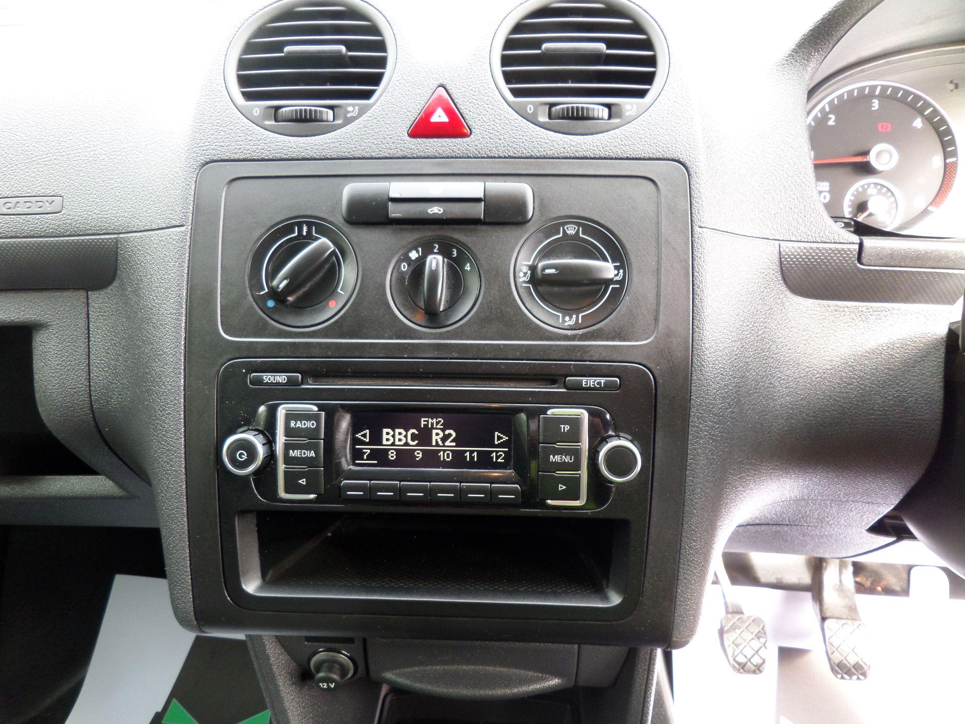 2016 Volkswagen Caddy 1.6 Tdi 102Ps Startline Van (GD66UAT) Image 10