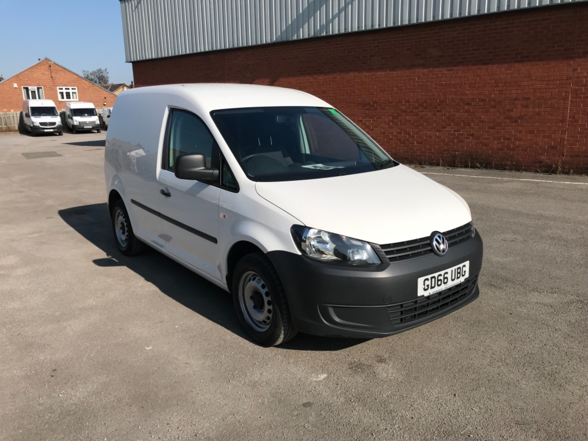 2016 Volkswagen Caddy 1.6 Tdi 102Ps Startline Van (GD66UBG)