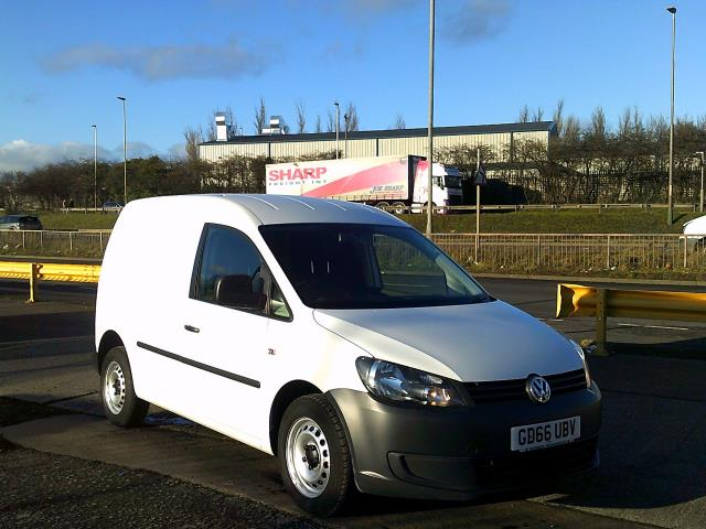 2016 Volkswagen Caddy 1.6 102PS STARTLINE EURO 5 *SPEED RESTRICTED TO 72MPH* (GD66UBV)