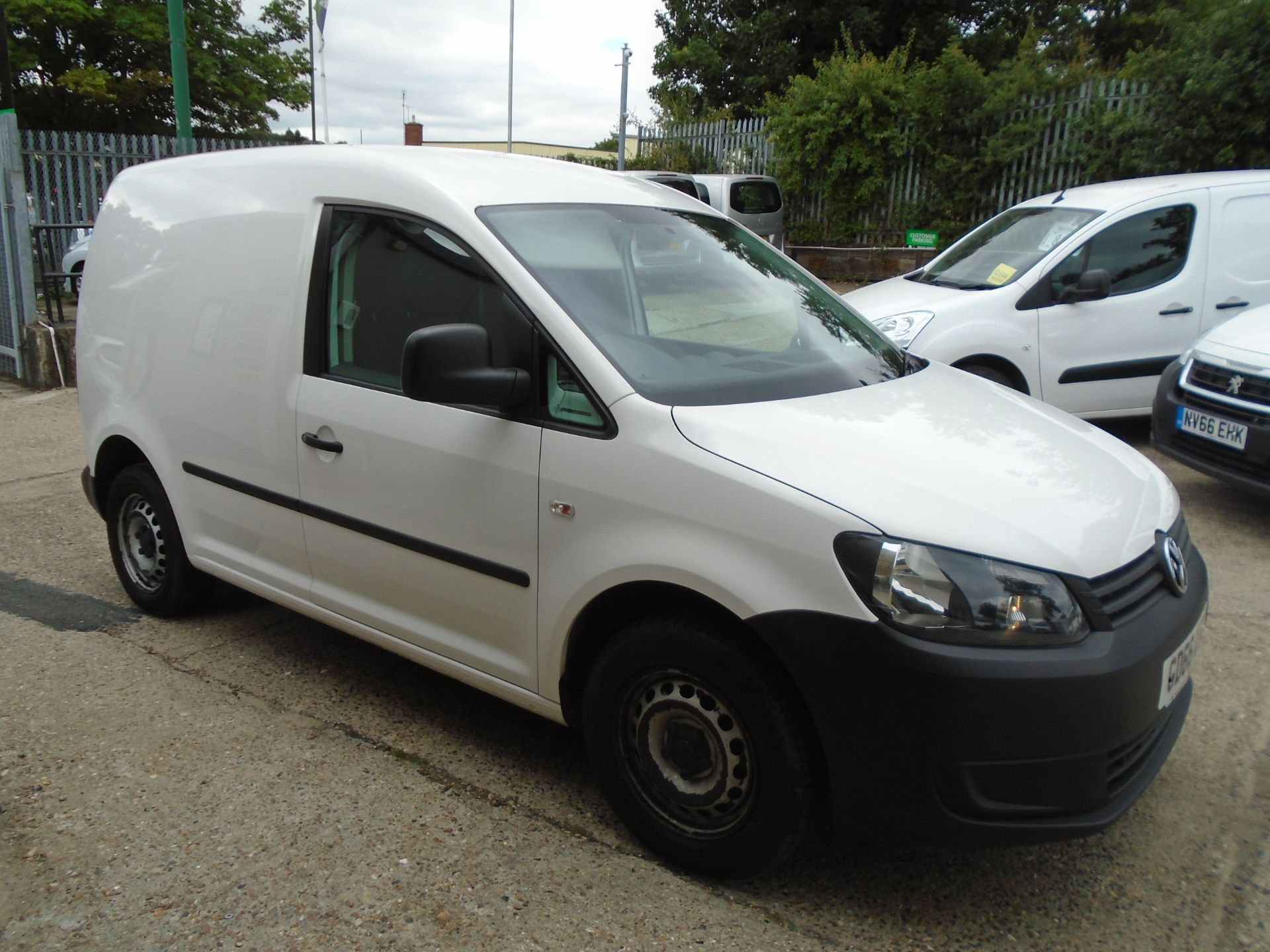 2016 Volkswagen Caddy 1.6 Tdi 102Ps Startline Van (GD66UBZ)