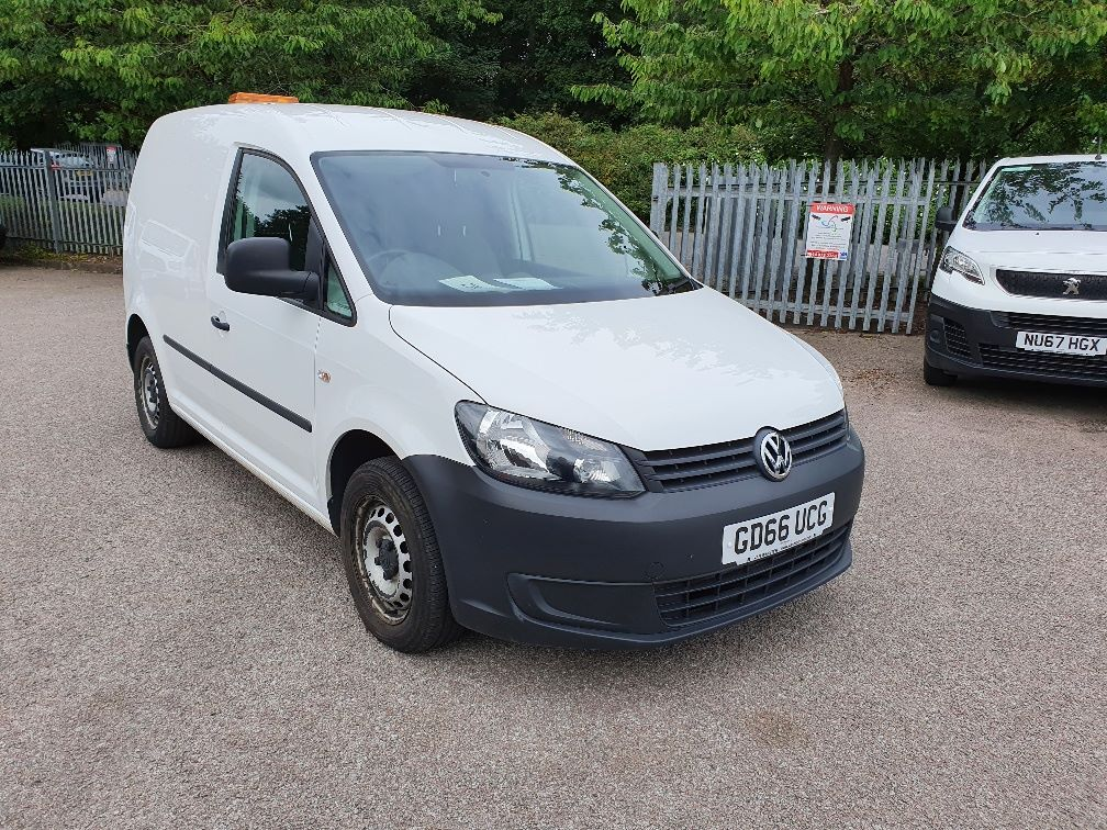 2016 Volkswagen Caddy C20 1.6 Tdi 102Ps Startline Van (GD66UCG)