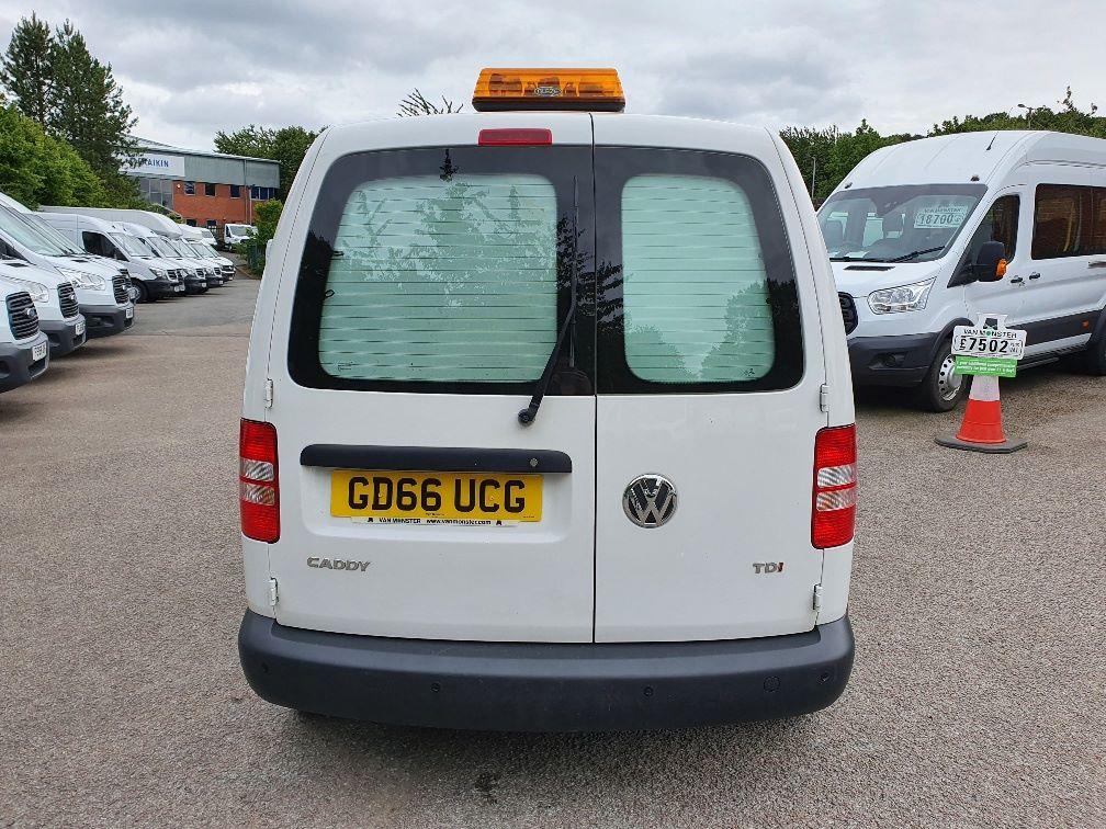 2016 Volkswagen Caddy C20 1.6 Tdi 102Ps Startline Van (GD66UCG) Image 9