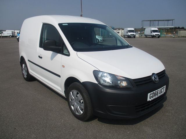 2016 Volkswagen Caddy 1.6 102PS STARTLINE EURO 5 (GD66UCT) Thumbnail 1